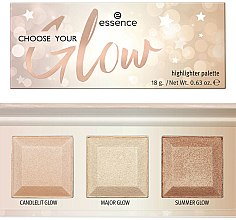 Parfumuri și produse cosmetice Paletă highlighters - Essence Choose Your Glow! Highlighter Palette