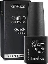 Parfumuri și produse cosmetice Baza de acoperire a gelului-lac - Kinetics Shield Gel Polish Quick Base