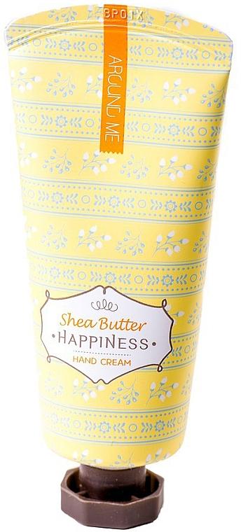 Cremă cu unt de shea pentru mâini - Welcos Around Me Happiness Hand Cream Shea Butter — Imagine N1