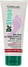 Parfumuri și produse cosmetice Balsam pentru îndepărtarea oboselii picioarelor - Floslek Dr Stopa Foot Therapy Tired Foot And Leg Balm