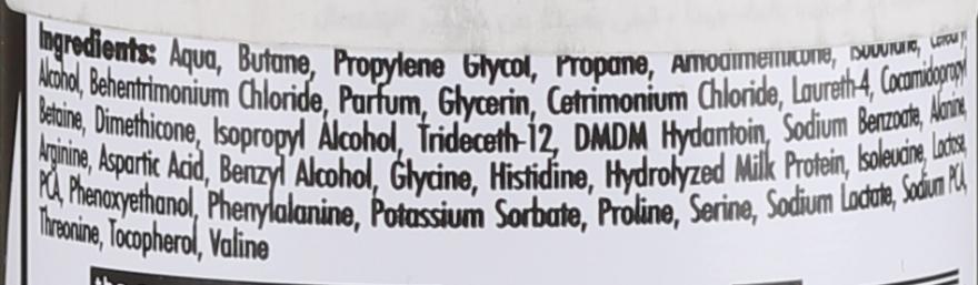 Mousse pentru păr - Morfose Milk Therapy Mousse Conditioner — Imagine N3
