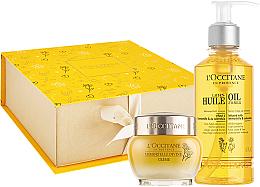 Parfumuri și produse cosmetice Set - L'occitane Immortelle Divine (f/oil/200ml + cr/50ml)