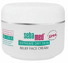 Parfumuri și produse cosmetice Cremă pentru ten uscat - Sebamed Extreme Dry Skin Relief Face Cream 5% Urea