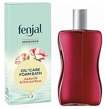 """Parfumuri și produse cosmetice Spumă de baie """"Ulei de jojoba și trandafir"""" - Fenjal Intensive Oil & Foam Bath"""