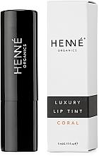 Духи, Парфюмерия, косметика Тинт для губ - Henne Organics Luxury Lip Tint