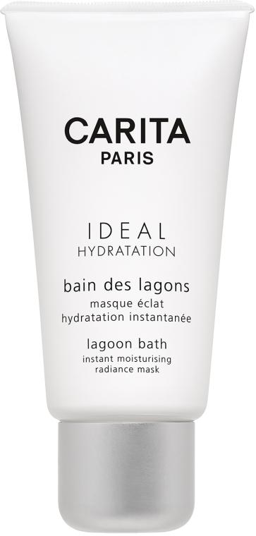 Masca hidratantă - Carita Ideal Hydration Lagoon Bath Instant Moisturising Radiance Mask — Imagine N1