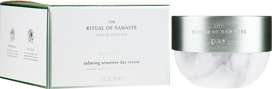 Cremă de zi pentru față - Rituals The Ritual Of Namaste Calming Sensitive Day Cream — Imagine N1