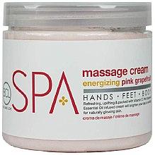 """Parfumuri și produse cosmetice Cremă pentru masaj """"Grapefruit"""" - BCL SPA Energizing Pink Grapefruit Massage Cream"""