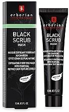 Parfumuri și produse cosmetice Scrub-mască pe bază de cărbune pentru față - Erborian Black Scrub Mask