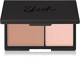 Parfumuri și produse cosmetice Pudră și iluminator cu efect mat pentru față - Sleek MakeUP Face Contour Kit