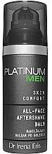 Parfumuri și produse cosmetice Balsam hidratant pentru ras - Dr Irena Eris Platinum Men Skin Comfort Aftershave Balm