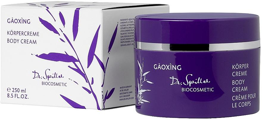 Крем для тела - Dr. Spiller Gaoxing Body Cream — фото N1