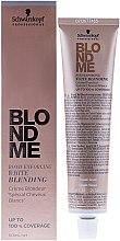 Parfumuri și produse cosmetice Cremă iluminatoare pentru păr cărunt - Schwarzkopf Professional BlondMe White Blending