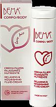 """Parfumuri și produse cosmetice Cremă-lifting pentru corp """"Nutriție și regenerare"""" - Bema Cosmetici Bema Love Bio Relaxing & Nourishing Fluid Cream"""