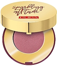 Parfumuri și produse cosmetice Fard satinat pentru pleoape - Pupa Sparkling Attitude Luminous Eyeshadow