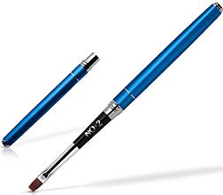 Parfumuri și produse cosmetice Pensulă pentru gel de unghii 2mm - Silcare