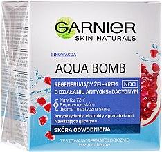Parfumuri și produse cosmetice Gel-cremă pentru faţă - Garnier Aqua Bomb Night Cream