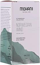 Parfumuri și produse cosmetice Cremă nutritivă pentru ochi - Mohani Natural Care Norwegian Wind Nourishing Eye Cream