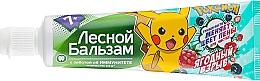 """Parfumuri și produse cosmetice Pastă de dinți pentru copii """"Berry Blast"""" - Lesnoy balzam"""