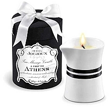Parfumuri și produse cosmetice Lumânare pentru masaj - Petits Joujoux A Trip To Athens Massage Candle