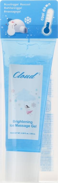 Cremă de față - Cloud9 Brightening Ice Massage Gel — Imagine N1