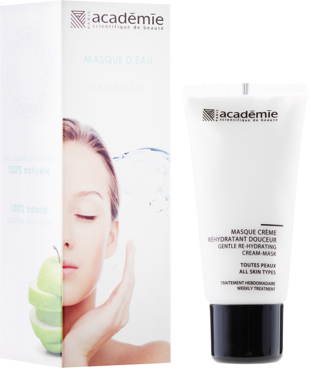 Masca Cremă Hidratantă - Academie Gentle Re-Hydrating Cream-Mask — Imagine N1