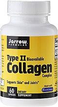 Parfumuri și produse cosmetice Complex de colagen tipul 2, 500 mg, 60 capsule - Jarrow Formulas Type II Collagen Complex