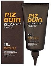 Parfumuri și produse cosmetice Fluid de corp - Piz Buin Ultra Light Dry Touch SPF15
