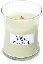 Parfumuri și produse cosmetice Lumânare parfumată în suport de sticlă - WoodWick Hourglass Candle Willow