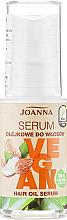 "Parfumuri și produse cosmetice Ser de păr ""4 uleiuri"" - Joanna Vegan Hair Oil Serum"