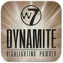 Parfumuri și produse cosmetice Iluminator pentru față - W7 Dynamite Highlighting Powder