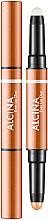 Parfumuri și produse cosmetice Ruj-primer 2 în 1 pentru buze - Alcina Beauty To Go Even Lip Duo