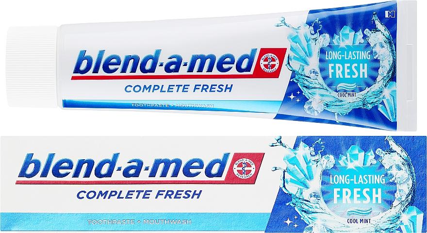 Pastă de dinți - Blend-a-med Complete Fresh Long Lasting Fresh — Imagine N1