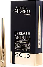 Духи, Парфюмерия, косметика Ser pentru creșterea genelor - Long4lashes EyeLash Gold Serum