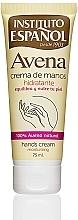 Parfumuri și produse cosmetice Cremă de mâini - Instituto Espanol Avena Hand Cream