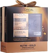Parfumuri și produse cosmetice Set - Loreal Nutri Gold