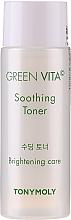 Parfumuri și produse cosmetice Toner hidratant - Tony Moly Green Vita C Soothing Toner (mini)
