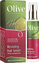"Parfumuri și produse cosmetice Ser de păr ""Oliva"" - Frulatte Olive Restoring Hair Serum"