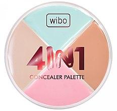 Parfumuri și produse cosmetice Paletă Corector pentru față - Wibo 4in1 Concealer Palette