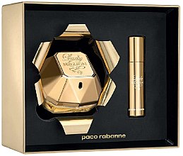 Parfumuri și produse cosmetice Paco Rabanne Lady Million - Set (edp/80ml + edp/10ml)