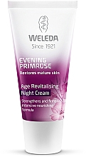 Parfumuri și produse cosmetice Cremă de noapte pentru pielea matură - Weleda Evening Primrose Age Revitalizing Night Cream
