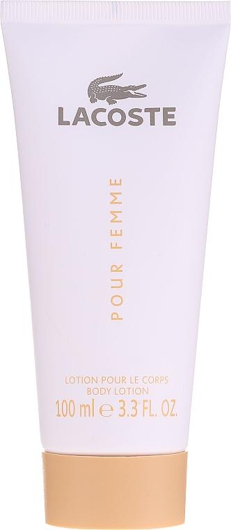 Lacoste Pour Femme - Набор (edp/50/ml + b/lot/100/ml) — фото N3