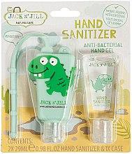 """Parfumuri și produse cosmetice Set antiseptic """"Dino"""" - Jack N' Jill Hand Sanitizer (Dino)"""