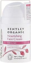 Parfumuri și produse cosmetice Cremă nutritivă pentru pielea normală - Bentley Organic Skin Blosso Nourishing Face Cream