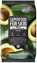 """Parfumuri și produse cosmetice Șervețele pentru față """"Avocado"""" - Superfood For Skin Fresh Food Facial Cleansing Wipes"""