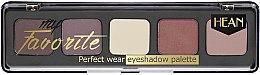 Parfumuri și produse cosmetice Paletă de nuanțe pentru pleoape - Hean My favorite Eye Shadow Palette