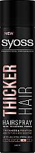Parfumuri și produse cosmetice Lac cu fibre pentru îngroșarea părului, fixare puternică - Syoss Thicker Hair
