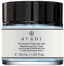 Parfumuri și produse cosmetice Cremă iluminatoare cu acid hialuronic, de zi - Avant Pro-Intense Hyaluronic Acid Illuminating Day Cream