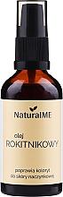 Parfumuri și produse cosmetice Ulei de cătină, cu dozator - NaturalME