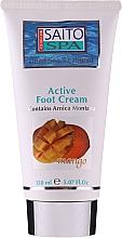 """Parfumuri și produse cosmetice Cremă pentru picioare """"Mango"""" - Saito Spa Active Foot Cream Mango"""